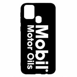Чехол для Samsung M31 Mobil Motor Oils