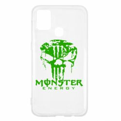 Чохол для Samsung M31 Monster Energy Череп