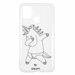 Чехол для Samsung M31 Mr Unicorn
