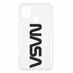 Чохол для Samsung M31 NASA logo