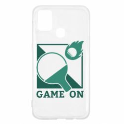 Чехол для Samsung M31 Настольный Теннис игра