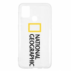 Чехол для Samsung M31 National Geographic logo
