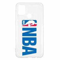 Чехол для Samsung M31 NBA Logo