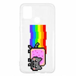 Чохол для Samsung M31 Nyan cat