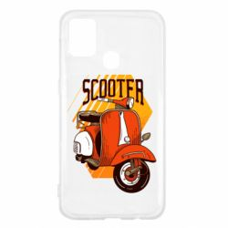 Чохол для Samsung M31 Orange scooter