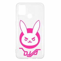 Чехол для Samsung M31 Overwatch dva rabbit
