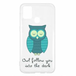 Чехол для Samsung M31 Owl follow you into the dark
