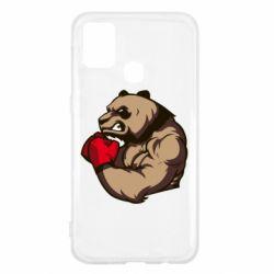 Чехол для Samsung M31 Panda Boxing