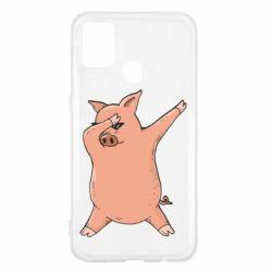 Чохол для Samsung M31 Pig dab