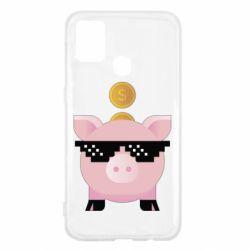 Чохол для Samsung M31 Piggy bank