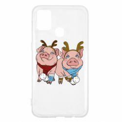 Чохол для Samsung M31 Pigs