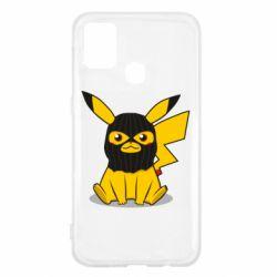 Чохол для Samsung M31 Pikachu in balaclava
