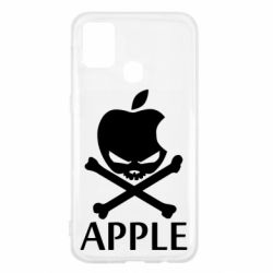Чехол для Samsung M31 Pirate Apple