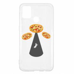 Чохол для Samsung M31 Pizza UFO