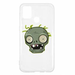 Чохол для Samsung M31 Plants vs zombie head