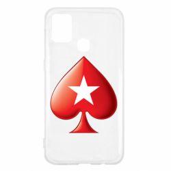 Чохол для Samsung M31 Poker Stars 3D Logo