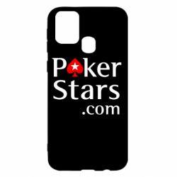 Чехол для Samsung M31 Poker Stars