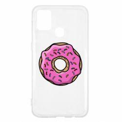Чехол для Samsung M31 Пончик Гомера