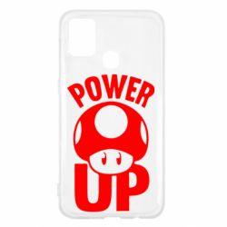 Чехол для Samsung M31 Power Up гриб Марио