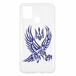 Чохол для Samsung M31 Птах та герб