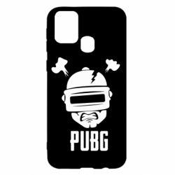 Чехол для Samsung M31 PUBG: hero face