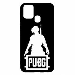 Чехол для Samsung M31 PUBG logo and hero