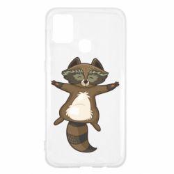 Чохол для Samsung M31 Raccoon