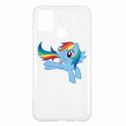 Чохол для Samsung M31 Rainbow Dash run
