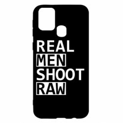Чохол для Samsung M31 Real Men Shoot RAW