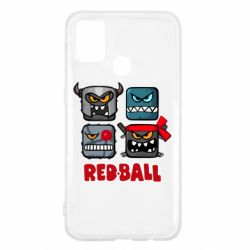 Чехол для Samsung M31 Red ball heroes