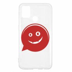 Чехол для Samsung M31 Red smile