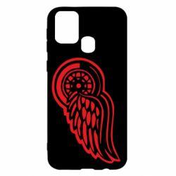 Чехол для Samsung M31 Red Wings