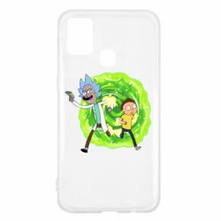 Чохол для Samsung M31 Rick and Morty art