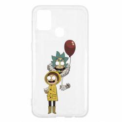 Чехол для Samsung M31 Rick and Morty: It 2