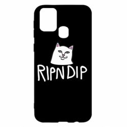 Чохол для Samsung M31 Ripndip and cat
