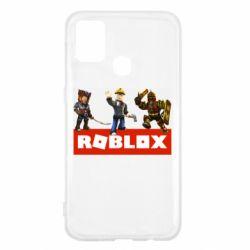 Чехол для Samsung M31 Roblox Heroes