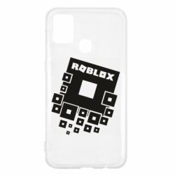 Чехол для Samsung M31 Roblox logos