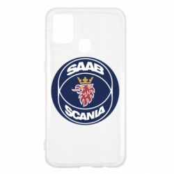 Чехол для Samsung M31 SAAB Scania