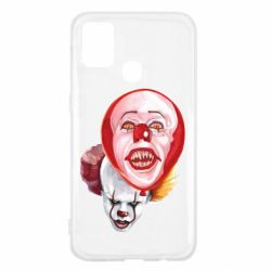 Чохол для Samsung M31 Scary Clown