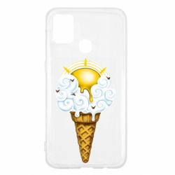 Чохол для Samsung M31 Sea ice cream