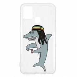 Чохол для Samsung M31 Shark Rastaman