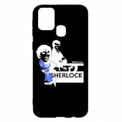 Чехол для Samsung M31 Sherlock (Шерлок Холмс)