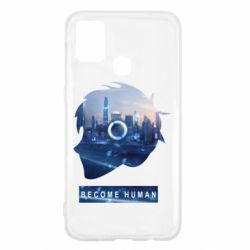Чохол для Samsung M31 Silhouette City Detroit: Become Human