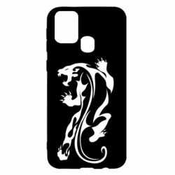Чехол для Samsung M31 Silhouette of a tiger