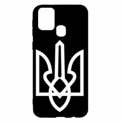 Чехол для Samsung M31 Simple coat of arms with sharp corners