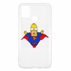 Чехол для Samsung M31 Simpson superman