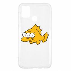 Чехол для Samsung M31 Simpsons three eyed fish