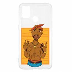 Чохол для Samsung M31 Singer Tupac Shakur