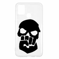 Чехол для Samsung M31 Skull and Fist