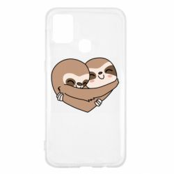 Чохол для Samsung M31 Sloth lovers